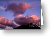 Charlestown Greeting Cards - Sundown on Nevis Greeting Card by Thomas R Fletcher