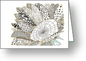 Paula Dickerhoff Greeting Cards - Sunflower Greeting Card by Paula Dickerhoff