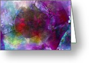 Loose Panicles Greeting Cards - Sunken Ruby Greeting Card by Don  Wright