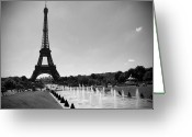 Canadian Photographer Greeting Cards - Sunny Day in Paris Greeting Card by Kamil Swiatek