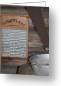 Dana Oliver Greeting Cards - Sunnyland Greeting Card by Dana  Oliver