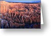Thor Photo Greeting Cards - Sunrise in Bryce Canyon National aprk Greeting Card by Pierre Leclerc