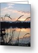 Grayton Beach Greeting Cards - Sunrise in Grayton 3 Greeting Card by Robert Meanor