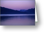 Oceans And Seas Greeting Cards - Sunrise On The Prince William Sound Greeting Card by Stacy Gold