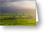 West Country Greeting Cards - Sunrise Greeting Card by Sebastian Wasek
