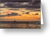 Sand Traps Greeting Cards - Sunset Adventure Greeting Card by Rene Triay Photography