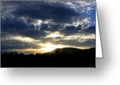 Kamloops Greeting Cards - Sunset From McArthur Island Greeting Card by Will Borden