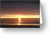  Originals Greeting Cards - Sunset Greeting Card by Gina De Gorna