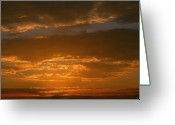 Huisken Greeting Cards - Sunset Over Boca Grande Greeting Card by Lyle  Huisken