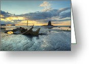 Williams Photo Greeting Cards - Sunset Over the Admiral Greeting Card by Martin Williams