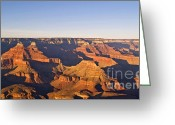 Hopi Greeting Cards - Sunset over the Grand Canyon Greeting Card by Alex Cassels