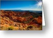 Point Park Greeting Cards - Sunset Sunrise Greeting Card by Chad Dutson