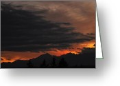 Kingston Greeting Cards - Sunset Tonight Greeting Card by Ronda Broatch