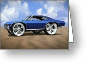 Wheels Greeting Cards - Super Big Wheels Greeting Card by Mike McGlothlen