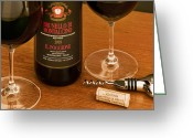 Brunello Greeting Cards - Super Tuscan Greeting Card by John Galbo