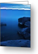 Noth Greeting Cards - Superior Water Greeting Card by Jamie Rabold