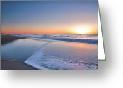 Acrylic Print Greeting Cards - Surf And Sand III Greeting Card by Steven Ainsworth