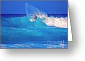 Island Photos Greeting Cards - Surfers Aura Greeting Card by Bette Phelan