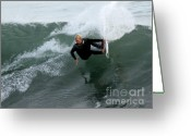 Chuck Kuhn Photography Greeting Cards - Surfs Up VII Greeting Card by Chuck Kuhn