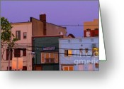 Store Fronts Greeting Cards - Sushi Tonight Greeting Card by Colleen Kammerer