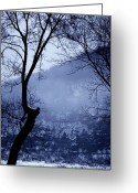 Merlin Greeting Cards - Susquehanna Dreamin... Greeting Card by Arthur Miller