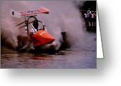 Florida Swamp Greeting Cards - Swamp Buggy Greeting Card by Michael L Kimble