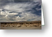 Desert Landscapes Greeting Cards - Sweeping Greeting Card by Laurie Search