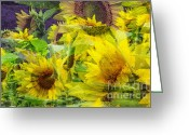 Rehabilitate Greeting Cards - Sweet Breeze Greeting Card by Lj Lambert