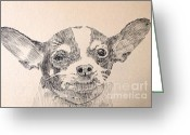 Robbi Musser Greeting Cards - Sweet Chi Greeting Card by Robbi  Musser