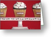 Confections Greeting Cards - Sweet Delights Greeting Card by Catherine Holman