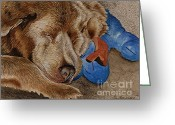 Sympathy Painting Greeting Cards - Sweet Dreams My Friend Greeting Card by Joy DiNardo Bradley         DiNardo Designs                     