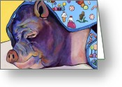 Colorado Prints Greeting Cards - Sweet Dreams  Greeting Card by Pat Saunders-White            