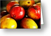 Mango Digital Art Greeting Cards - Sweet Greeting Card by Isaac Richter
