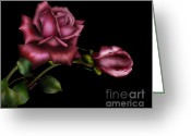 Bedroom Art Greeting Cards - Sweet Perfection Greeting Card by Cheryl Young