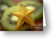 Star Points Greeting Cards - Sweet Pleasures Greeting Card by Inspired Nature Photography By Shelley Myke
