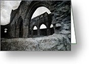 New Britain Greeting Cards - Sweetheart Abbey Greeting Card by Laura Melis