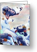 Bears Greeting Cards - Sweetness Over the Top Greeting Card by Lyle Brown