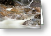 Grafton County Greeting Cards - Swift River - White Mountains New Hampshire USA Greeting Card by Erin Paul Donovan