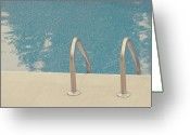 Water Swimming Pool Greeting Cards - Swimming Pool Greeting Card by Jessica Helinski