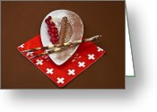 Candy Bars Greeting Cards - Swiss chocolate praline Greeting Card by Joana Kruse
