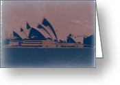 Theater Digital Art Greeting Cards - Sydney Australia Greeting Card by Irina  March