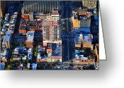 South Philadelphia Greeting Cards - Symphony House Condo 440 South Broad Street Philadelphia PA 19146 4901 Greeting Card by Duncan Pearson