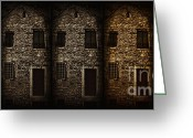 Old Wall Digital Art Greeting Cards - Synchronisation Greeting Card by Andrew Paranavitana