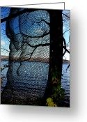 Weather Photographs Greeting Cards - Synchronizing Body And Nature  Greeting Card by Mark Ashkenazi