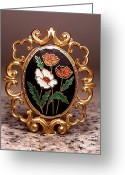 Vintage Jewelry Greeting Cards - T 7 Greeting Card by Dwight Goss