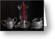 Serving Piece Greeting Cards - Table piece serving set Greeting Card by Ralph Hecht