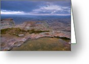 Puddle Greeting Cards - Table Rock Tarn Greeting Card by Idaho Scenic Images Linda Lantzy