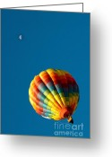 C Casch Greeting Cards - Take Me To The Moon Greeting Card by C Casch