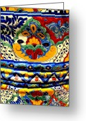 Image Gypsies Greeting Cards - Talavera by Darian Day Greeting Card by Olden Mexico