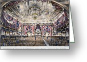 Democratic Party Greeting Cards - Tammany Hall, Nyc Greeting Card by Granger